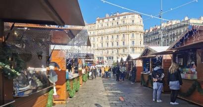 Le marché de Noël à Marseille