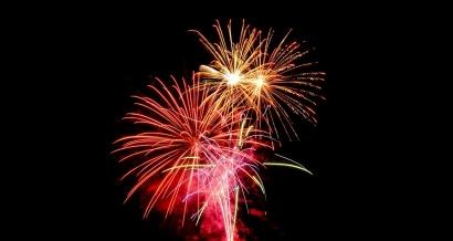 14 juillet : feux d'artifice et festivités