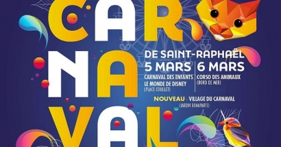 Carnaval de Saint-Raphaël du 6 au 8 février