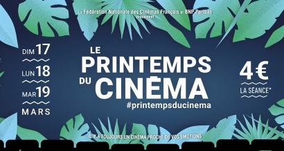 Avec le Printemps du cinéma aller voir un film ne vous coûtera que 4 euros pendant trois jours