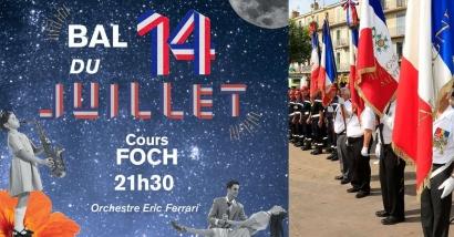 En raison du mistral, le feu d'artifice du 14 juillet 2021 est reporté à Aubagne