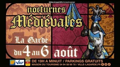 Les Nocturnes Médiévales de la Garde démarrent ce soir: le plan et le programme des festivités