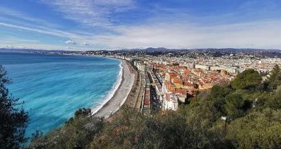 Balade à Nice : de la promenade des anglais au Parc de la colline du château