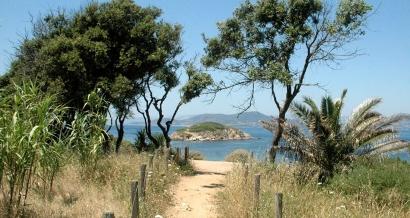 La Presqu'île de Giens: Le sentier du littoral