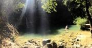 Barjols : au frais sous la cascade du Vallon des Carmes