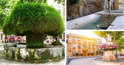 Salon de Provence : Balade de fontaines en fontaines