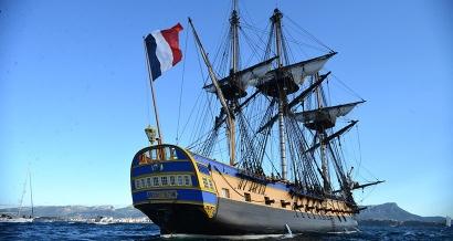L'Hermione qui a failli boucher le Vieux Port: Ces anecdotes sur l'Hermione avant son arrivée à Marseille