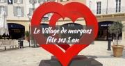 Deux millions de visiteurs pour la première année du village de marques de Miramas
