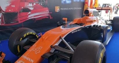 Un circuit de Formule 1 sur le port de Toulon le 5 mai