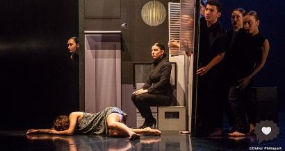 Soirée danse israélienne contemporaine au Pavillon Noir.