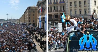 Une parade de l'OM ce jeudi sur le Vieux Port en cas de victoire