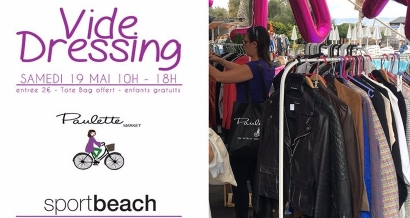 Vide Dressing Paulette Market au Sport Beach