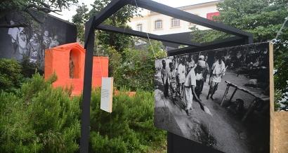 Un ancien couvent devient un jardin d'oeuvres d'art contemporain au coeur de Marseille