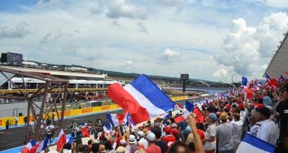 Un franc succès pour le retour du Grand Prix de France au Castellet