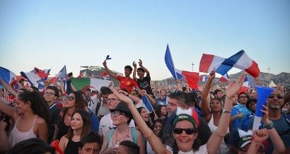 Marseille: un écran géant au Parc Chanot pour la finale de la coupe du monde