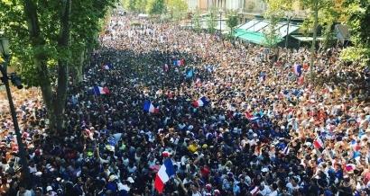 Nice, Aix, Marseille, Toulon: les fan zones pleines à craquer