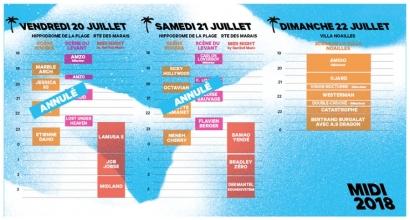 Problème de scène: Le Midi Festival annule toutes ses soirées à l'Hippodrome d'Hyères