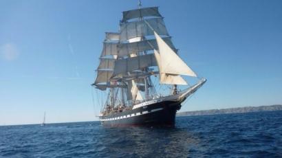 Belem à Marseille: les visites annulées car le navire n'a pas pu rentrer dans le Vieux Port