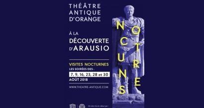 Visitez le théâtre antique d'Orange en nocturne !