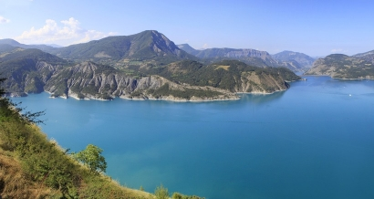 Val de la Durance : du lac de Serre-Ponçon à Montgenèvre