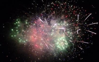 Le feu d'artifice du 15 août tiré ce soir à Saint Tropez