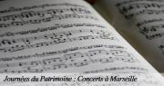 En avant la musique pour les Journées du Patrimoine à Marseille
