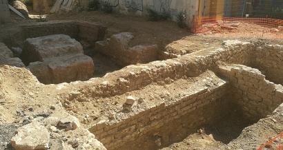 Une dalle de verre sous le lycée du Rempart pour valoriser les ruines médiévales