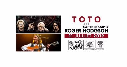 Toto et Roger Hodgson au festival de Nîmes