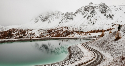 Alpes du Sud: les premiers flocons de la saison sont tombés
