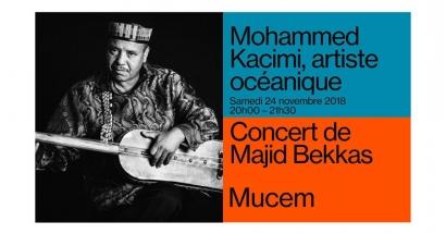 Gagnez vos invitations pour Majid Bekkas le 24 novembre au Mucem