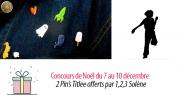 #4 Concours de Noël : 2 Pin's Titlee offerts par la boutique 1,2,3 Solène