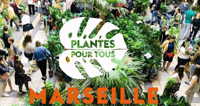 Grande Vente de Plantes # 5 aux Docks Village