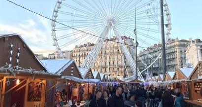 Marseille: le Marché de Noël et la Foire aux santons fermés ce samedi 8 décembre en prévision des manifestations