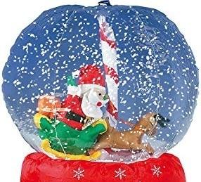 Vous rêviez d'entrer dans une boule de neige? C'est possible ce weekend à La Roque d'Antheron