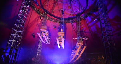 C'est parti pour la Biennale des Arts du Cirque sur les plages du Prado