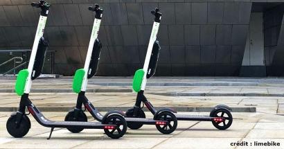 Dès demain, des trottinettes électriques en libre-service pour se déplacer à Marseille