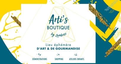Arti's Boutique, un lieu éphémère d'art et de gourmandise arrive à Lambesc