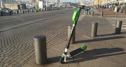 Le succès fou des trottinettes électriques en location à Marseille