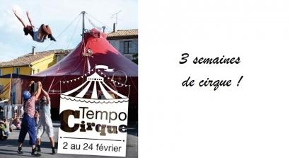 Tempo Cirque à Martigues, tous en piste !