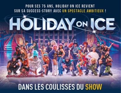 Gagnez vos invitations pour Holiday on Ice dimanche 7 avril à Marseille