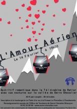 Pour la Saint Valentin, envoyez-vous en l'air au dessus de la vallée de Serre Chevalier