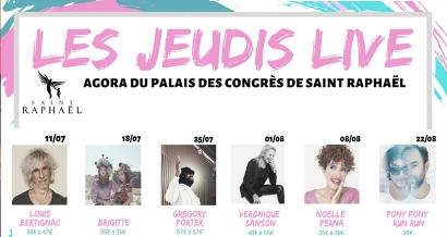 Véronique Sanson, Gregory Porter, Bertignac, Perna, Brigitte et Pony Pony Run Run cet été à Saint-Raphël