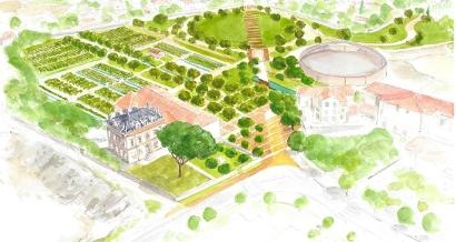 La Jarre, un nouveau parc de 2ha dans les quartiers sud de Marseille