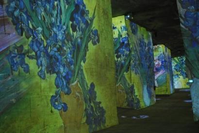 La nuit étoilée aux Carrières de Lumières : Une symphonie Van Goghienne