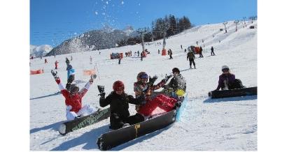 Profitez des dernières semaines de ski à Ancelle, on vous invite !