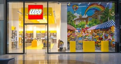 En images: Le premier Lego Store de la région ouvre à Nice ce jeudi
