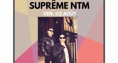 Suprême NTM en concert au Martigues Summer Festiv'Halle