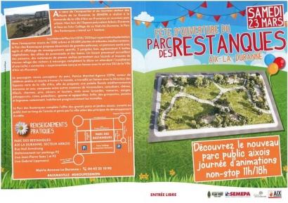 Un nouveau parc paysager est inauguré ce samedi à Aix La Duranne