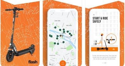 Après Lime, les trottinettes 'Flash' disponibles dès aujourd'hui à Marseille