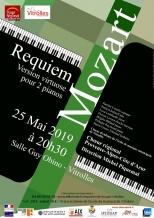 Gagnez vos invitations pour Requiem de Mozart le 25 mai à Vitrolles
